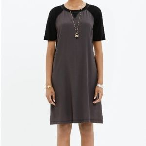 Madewell Colorblock Tshirt Dress